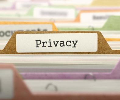 File Folder Labeled as Privacy.