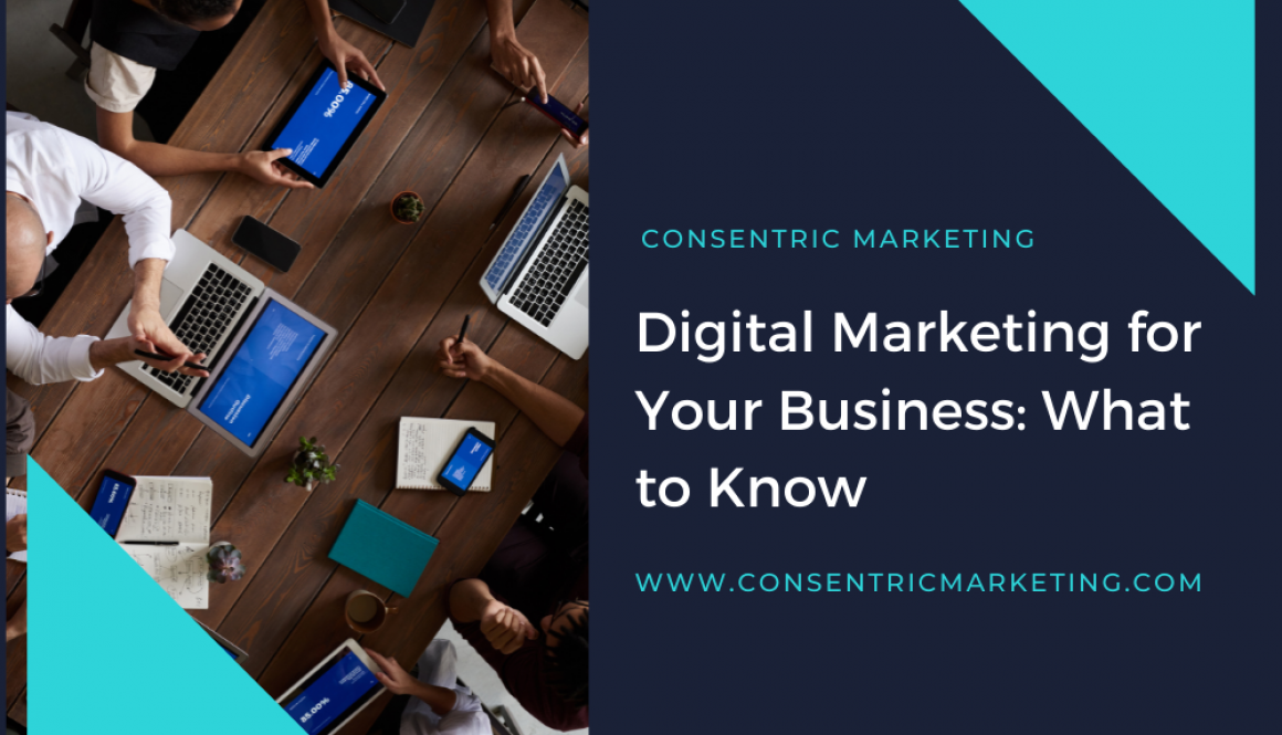 Digital Marketing for Your Business What to Know